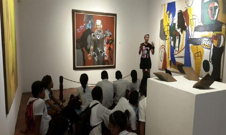 EN EL MUSEO